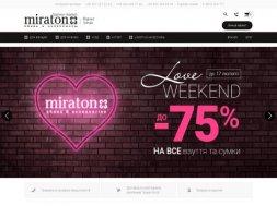 Интернет-магазин Miraton