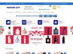 Интернет-магазин Parfumcity