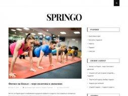 Интернет-магазин Springo
